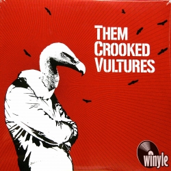 Them Crooked Vultures - Them Crooked Vultures, 2LP HQ180G, 2009 DGC USA