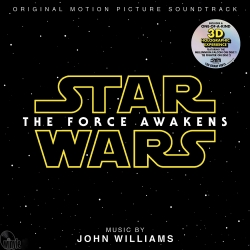 Star Wars: The Force Awakens - SOUNDTRACK Music by John Williams,  2LP HQ180G USA, 2016