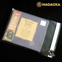 Okładki foliowe CD NAGAOKA | Zaklejane 20 szt.