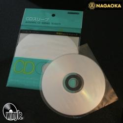 Okładki foliowe CD NAGAOKA | 20 szt. antystatyczne
