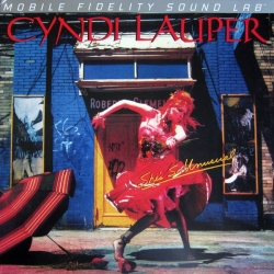 Cyndi Lauper - She's So Unusual, Mobile Fidelity LP HQ160G U.S.A. 2012